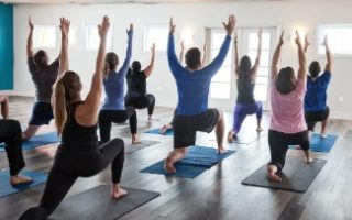Yoga at Heritage Fitness